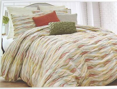 Style Lounge Full Queen Duvet Cover Rhythm 100% Cotton Voile Multi Color ()