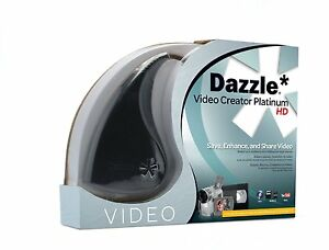 PINNACLE-DAZZLE-DVC100-DVC-100-PLATINUM-Video-Capture-STUDIO-15-HD-PC-USB