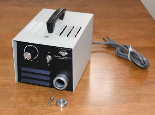 Dolan-Jenner Fiber-Lite Model 180 Microscope High Intensity Illuminator Tested!