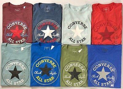 Men's Converse All Star Chuck Taylor Cotton/Polyester Blend T-Shirt