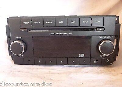 11 12 Dodge Jeep Patriot Compass Caliber Radio Cd Mp3 Player RES P05091195AB BF