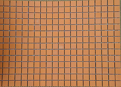 Miniature Dollhouse FAIRY GARDEN Accessories ~ Patio Bricks Mesh Sheet ~ NEW