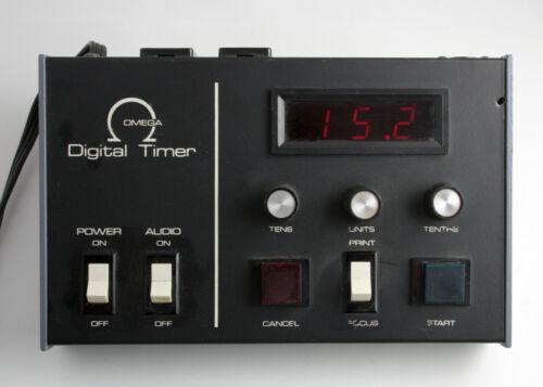 U200857 Omega Digital Enlarger Timer Handles Up To 650 Watts - Tested, Working!