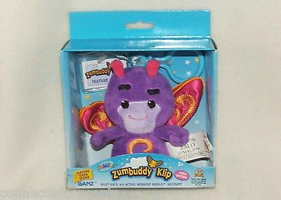 Webkinz Zumbuddy Klip First Edition From Ganz See Selection With Codes