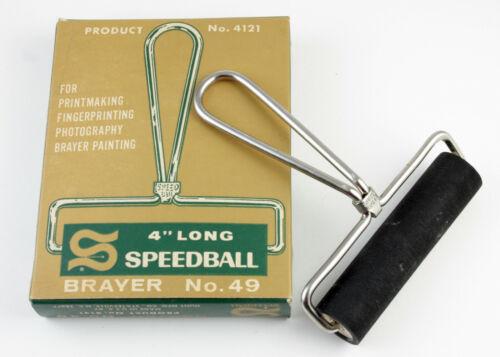 "U200828 Speedball No. 49 4"" Brayer Print Roller Genuine Original As-Is"