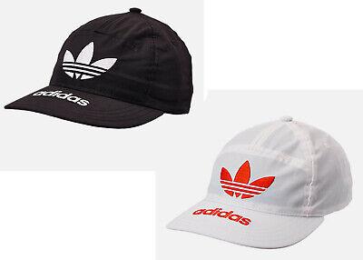 Adidas Men's Originals Trefoil Hat / Cap NEW 7 Panel Snapback B&W or White/Amber