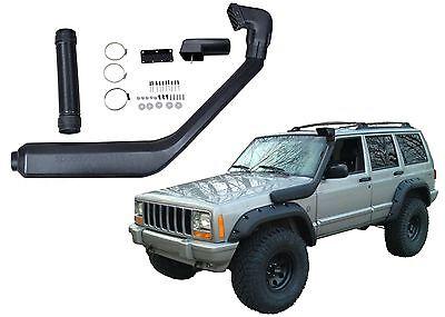 1984-2001 Jeep Cherokee Air Intake Rolling Head Snorkel Kit New Free Shipping