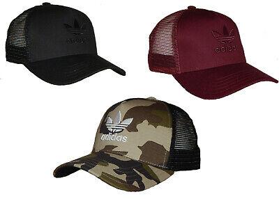 Adidas Men's Originals Trefoil Trucker Hat / Cap Snapback 4 Colors to Choose