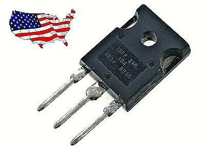 Irfp240 - 2 Pcs N-channel 20a 200v To-247 Power Mosfet - From Us