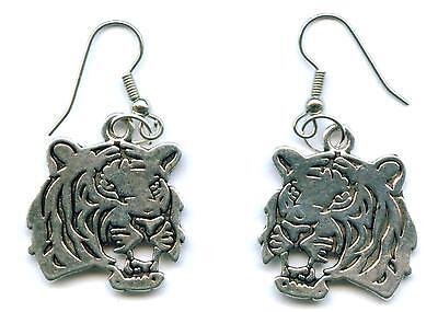 Ohrringe TIGER Ohrhänger Earring Panther Raubkatze