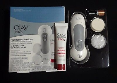 Olay Pro-X Microdermabrasion+ Advanced Cleansing System ProX Anti-Aging Kit