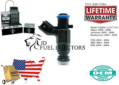 X1  Bosch Fuel Injector Cadillac STS 2005 - 2006 3.2 5.7 3.6 0280156131