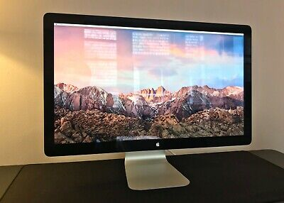 "Apple 27"" LED Cinema Display (A1316) iSight, Speakers Mic & MagSafe Power"