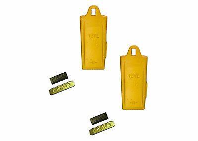 2 - Esco Style 18 Series Mini Excavator Backhoe Bucket Dirt Tooth W Pin Kit