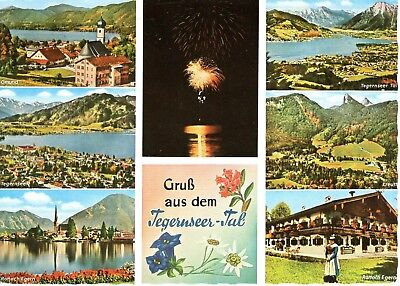 AK Ansichtskarte Gruß aus dem Tegernseer Tal - 1966