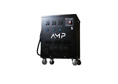 American Rotary Phase Converter Amp5-t1 Plug And Play Series 1 To 3 Phase