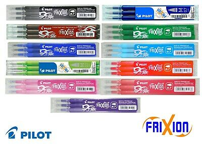 Pilot Frixion 0.7mm Ink Refills For Frixion Pens - Three Pack - Frixionrefill