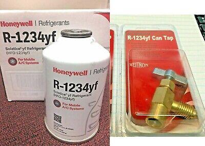 R1234yf Refrigerant Honeywell 8 Oz Solstice Yf Free Can Tap Free Shipping