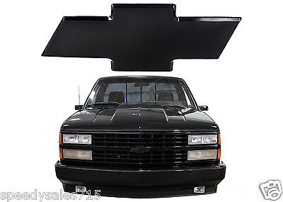 All Sales 96001K 1988 1993 Chevrolet CK 1500 2500 3500 Black Billet Bowtie New