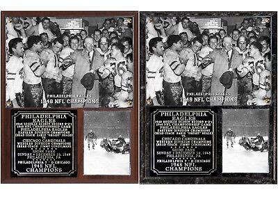 Philadelphia Eagles 1948 NFL Champions Photo Plaque ()