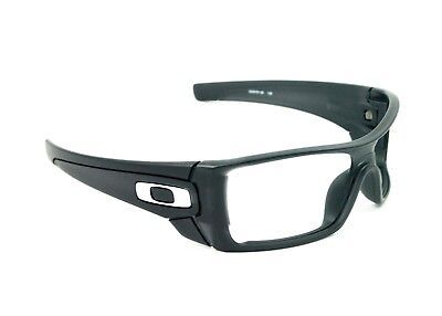 OAKLEY BATWOLF MATTE BLACK INK FRAME ONLY *AUTHENTIC* POLISHED CHROME ICONS
