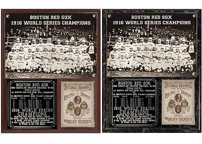- Boston Red Sox 1916 World Series Champions Photo Plaque