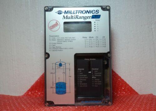Milltronics MultRanger Plus Level Sensor Relay Control 100/115/200/230 V
