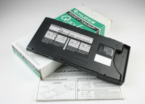 Fujifilm Quickload Film Holder QL 4x5 + Original Box & Instructions