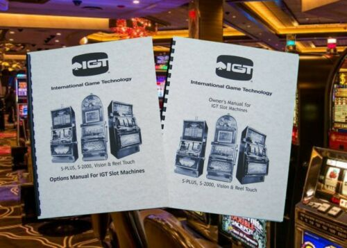 IGT S-PLUS ,S-2000, Vision & Real Touch Slot Machine Options And Owner
