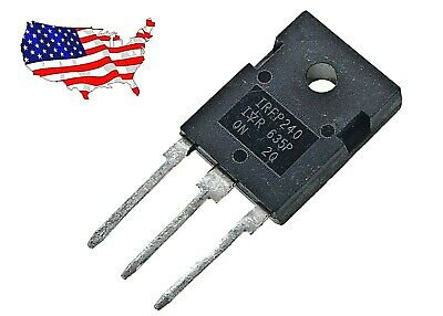 Irfp240 - 2 Pcs N-channel 20a 200v To-247 Power Mosfeton - From Us