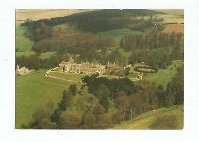 Postcard Rockingham Castle Northants Aerial View UP     (A30)