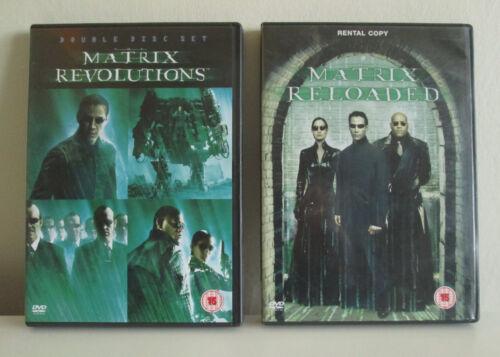 The Matrix Reloaded & Matrix Revolutions 2003 - x2 Disc DVDs