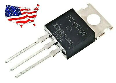 Irf9540n10 Pcs 23a 100v To-220 Ir P-channel Power Mosfet - From Us
