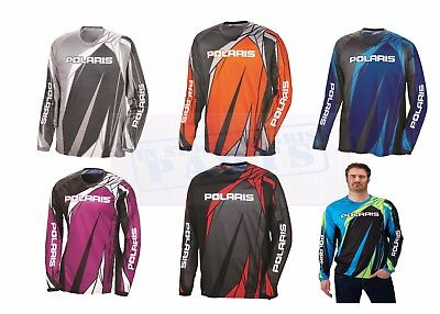 2018 POLARIS OEM ATV RIDING JERSEY RZR SPORTSMAN GENERAL   ALL SIZES COLORS