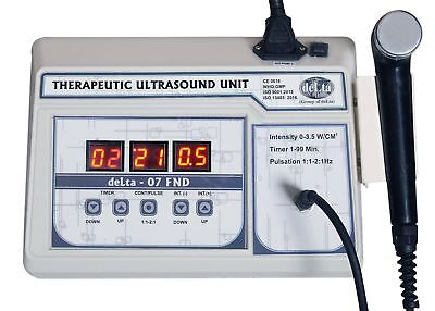 Home Digital 1mhz Ultrasound Therapy 07 Fnd Pain Relief Therapy Portable Unit D4