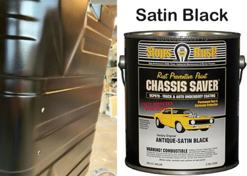 Magnet Paint Ucp970-01 Chassis Paint Satin Black 1 Gallon Can New Free Shipping