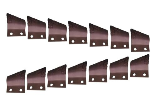 """Cupped Trenching Teeth w Carbide- B135924, B135925, 2"""" Centers on Bolt Holes"""
