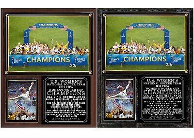 USA 2019  FIFA Women's World Cup Champions Soccer Photo Plaque