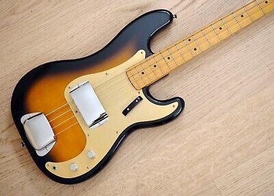 1991 Fender Precision Bass '57 Vintage Reissue Gold Guard PB57 Japan MIJ Fujigen segunda mano  Embacar hacia Mexico