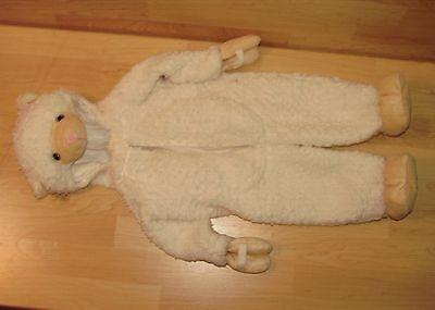 Infant Sheep Halloween Costume (9M Authentic Kids Halloween Costume Plush Baby Lamb Sheep)