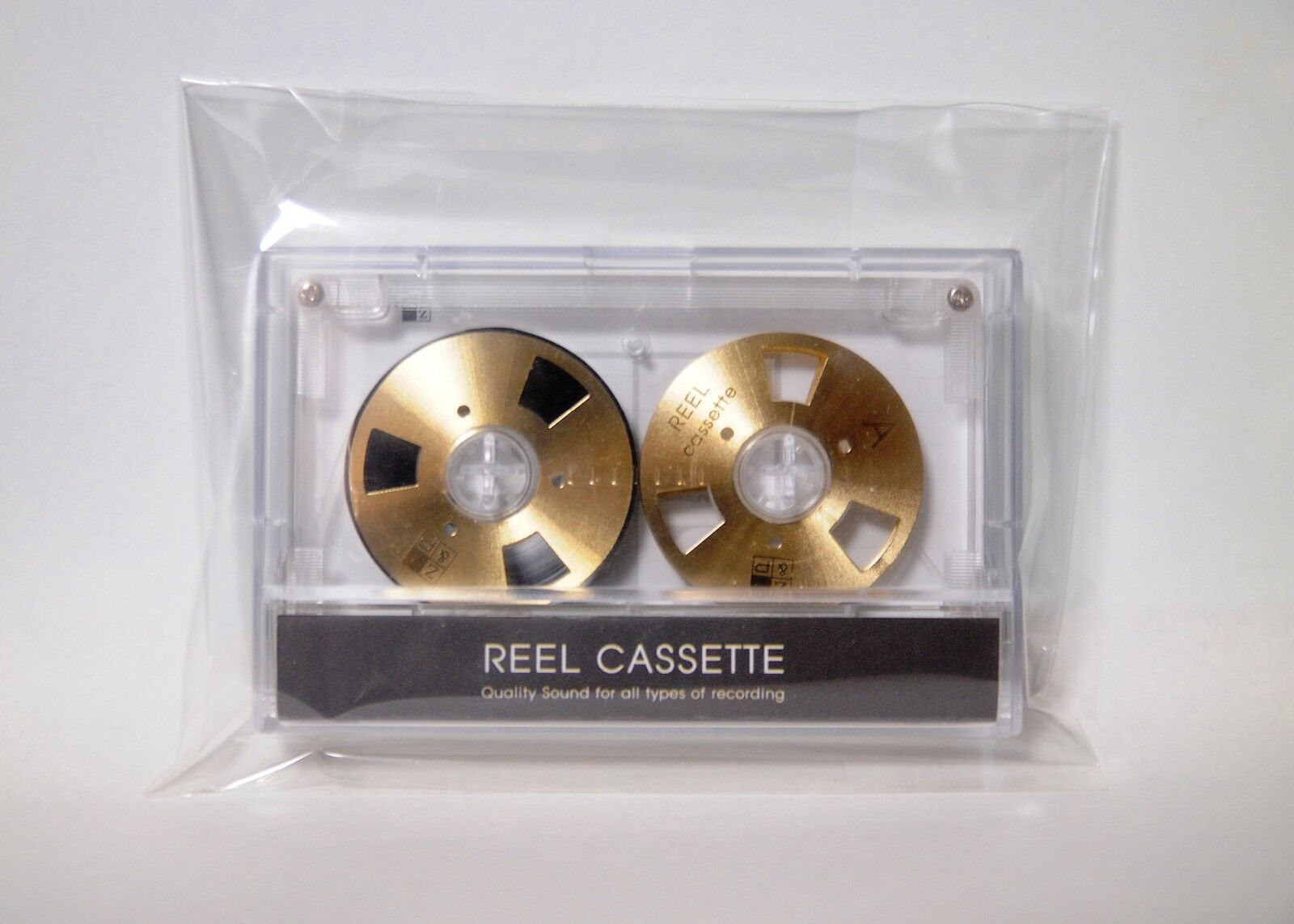 Reel to Reel cassette tape New self-made high quality design Gold color