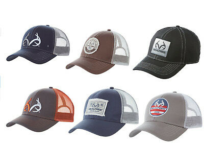 REALTREE Outfitters Trucker Hat / Cap 6 Colors Deer Antlers Real Tree Hunting