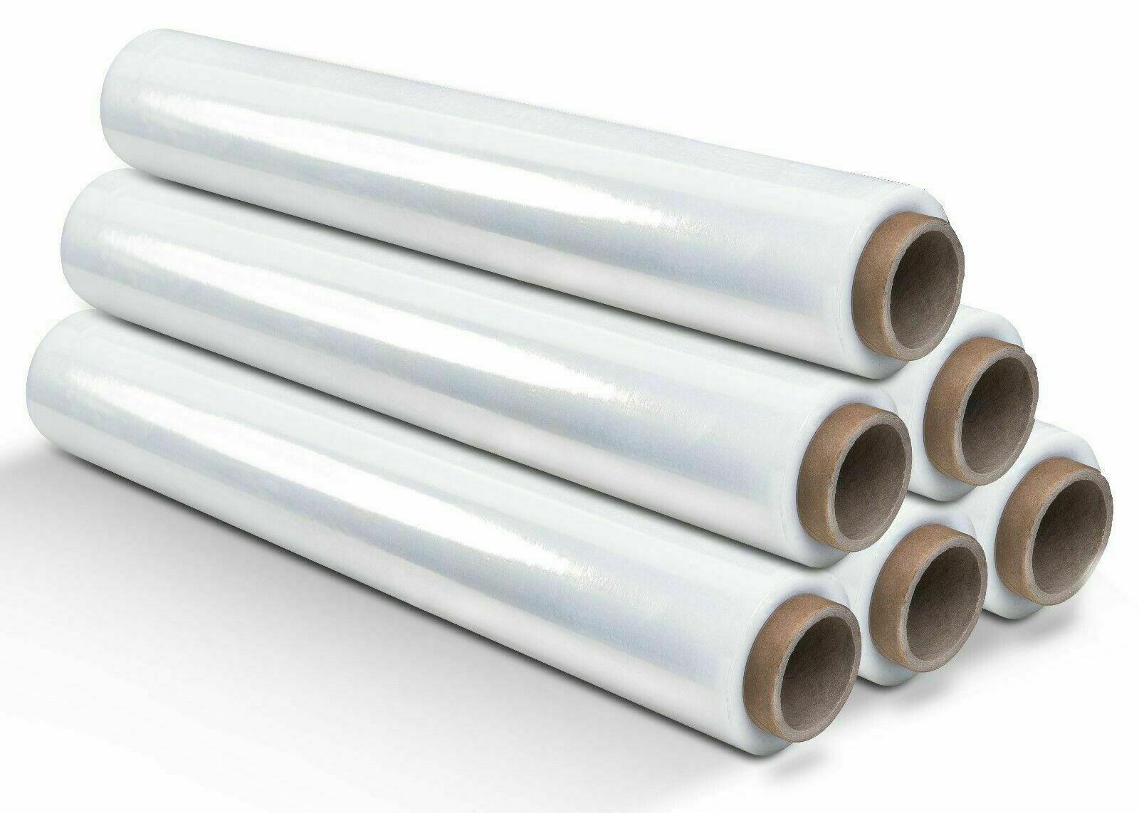 12 rollen Strechfolie palettenfolie 3 KG 500mm x 300m 23 my