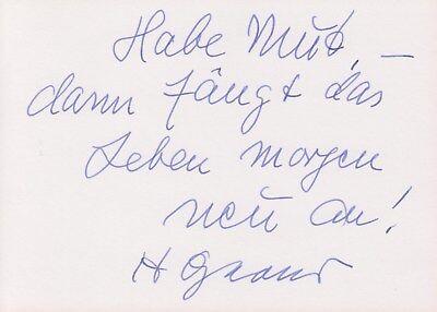 HEINZ OESTERGAARD --- original signiert - 6#15