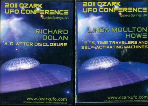 OZARK MOUNTAIN UFO CONFERENCES - 2011, 2012, 2015, 2016 - 14 DVD DISCS