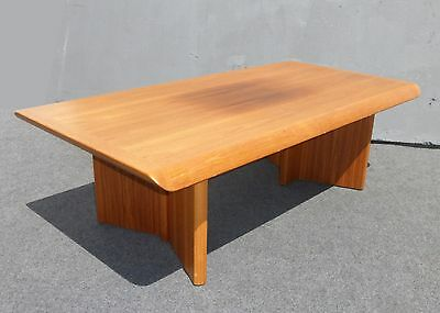 Vintage Danish Modern Teak COFFEE TABLE Made in Canada by NORDIC Furniture