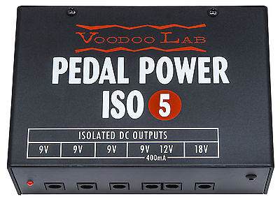 USED Voodoo Lab Pedal Power ISO 5 Guitar Effect Pedal Power Supply  - $99.99