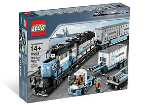 2011 LEGO CREATOR / TRAINS 10219 MAERSK TRAIN, NEW & SEALED, RARE, GREAT GIFT!