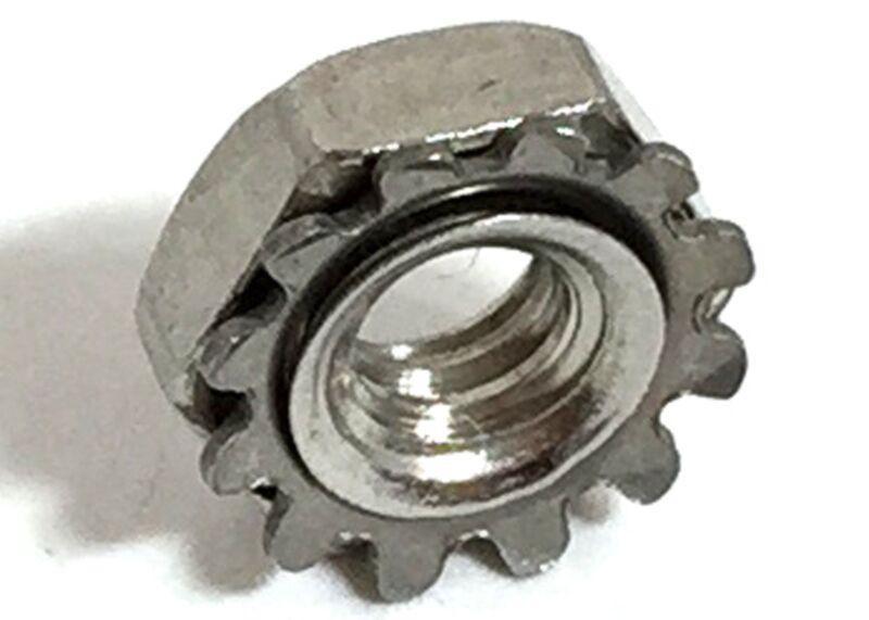 Stainless Steel 8-32 Keps Nuts K-Locks Qty 100