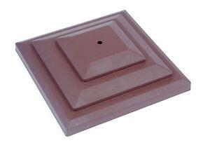 Linic-10-x-Marrone-3-75mm-Plastica-Recinto-Top-Decorazione-Decomposizione